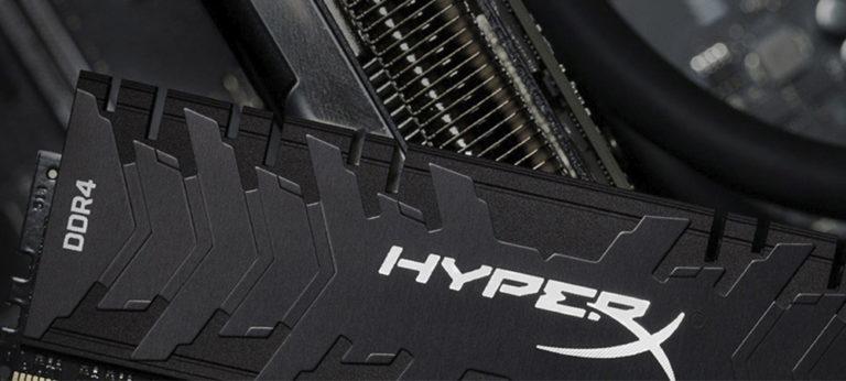 Представлены комплекты памяти HyperX Predator с частотой до 4600 МГц