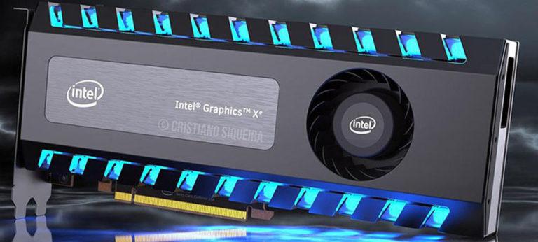 Видеокарты Intel Xe получат поддержку трассировки лучей