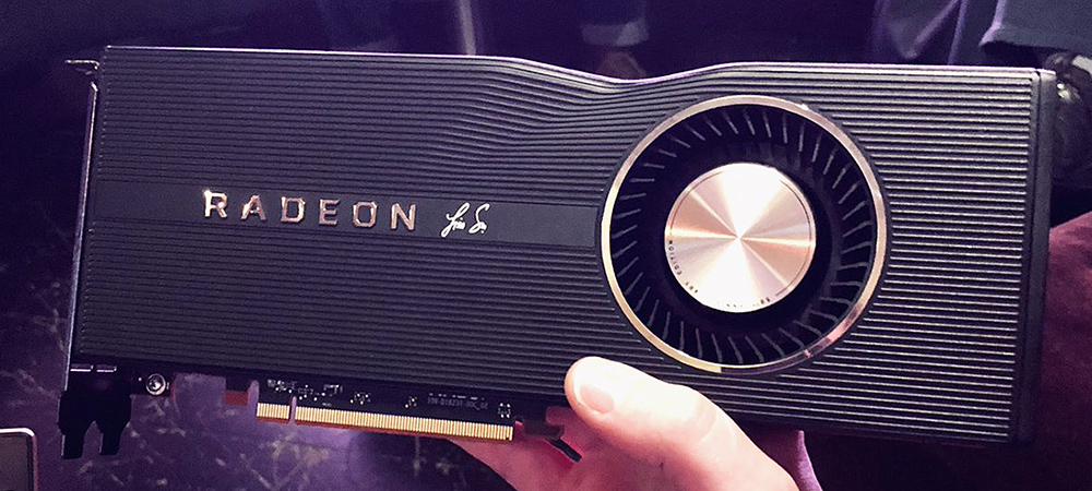 AMD выпустит юбилейную Radeon RX 5700 XT 50th Anniversary Edition