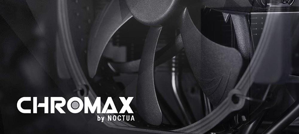 Кулеры Noctua теперь в черном исполнении chromax.black