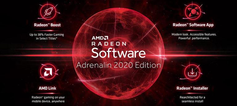 Состоялся релиз набора драйверов AMD Radeon Adrenalin 2020 Edition