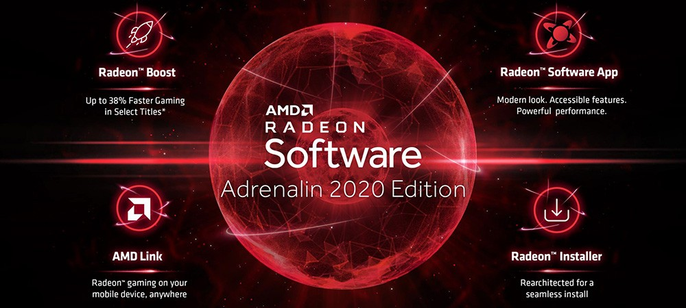 Состоялся релиз набора драйверов AMD Radeon Adrenalin 2020 Edition