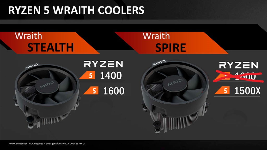 Ryzen 5 1600 теперь производится по 12-нм техпроцессу