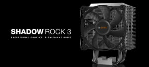 Be quiet! показала кулер Shadow Rock 3 с теплоотводом 190 Вт