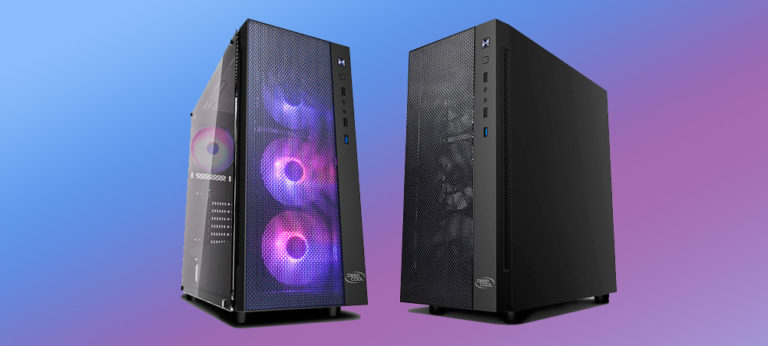 DeepCool представила корпус Matrexx 55 Mesh 4F с четырьмя RGB-вентиляторами