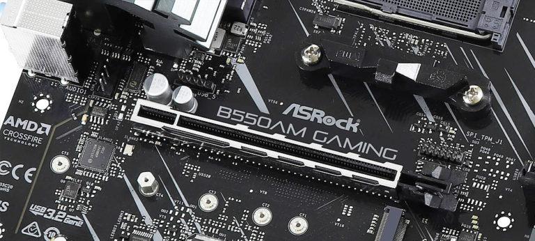 Первые фото платы ASRock B550AM Gaming на чипсете AMD B550