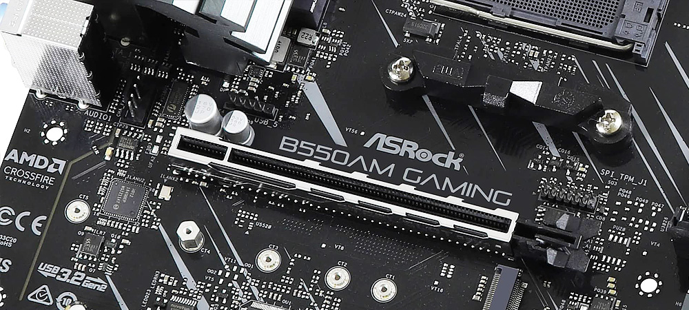 Первые фото платы ASRock B550AM Gaming на чипсете AMD B550