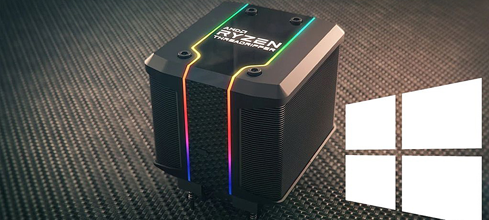 Ryzen Threadripper 3990X   «раскроет» свой потенциал даже на Windows 10 Pro