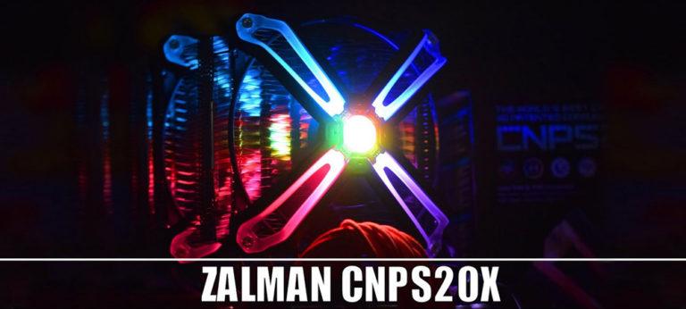Стартовали продажи кулера Zalman CNPS20X с теплоотводом 300 Вт
