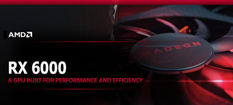 Видеокарты AMD RX 6000 на архитектуре RDNA 2 поддерживают трассировку лучей