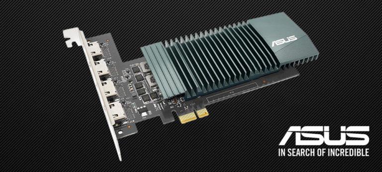 ASUS выпустила необычную видеокарту GeForce GT 710