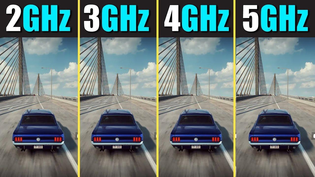 Какая частота процессора оптимальна для игр?