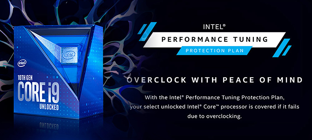 Intel предлагает застраховать процессоры Core 10-поколения за символическую сумму