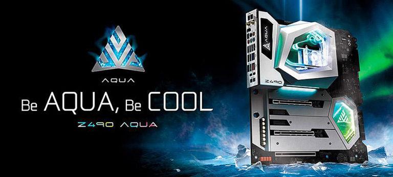 Материнские платы ASRock Z490 Aqua для LGA1200 выйдут ограниченным тиражом