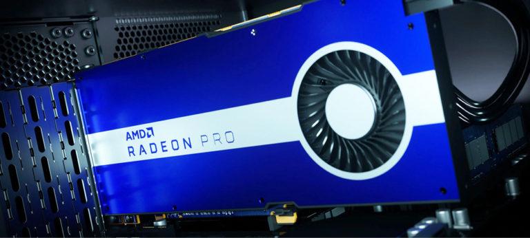Всплыли характеристики профессиональной версии видеокарты AMD Radeon Pro VII