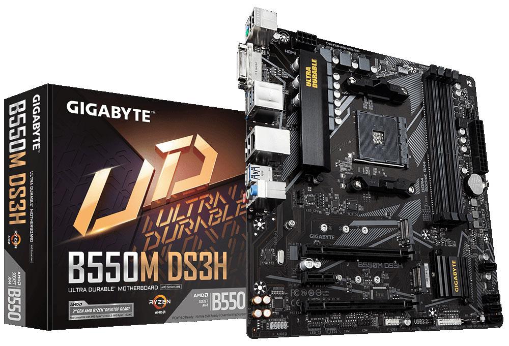 Знакомимся с материнскими платами Gigabyte на основе логики AMD B550