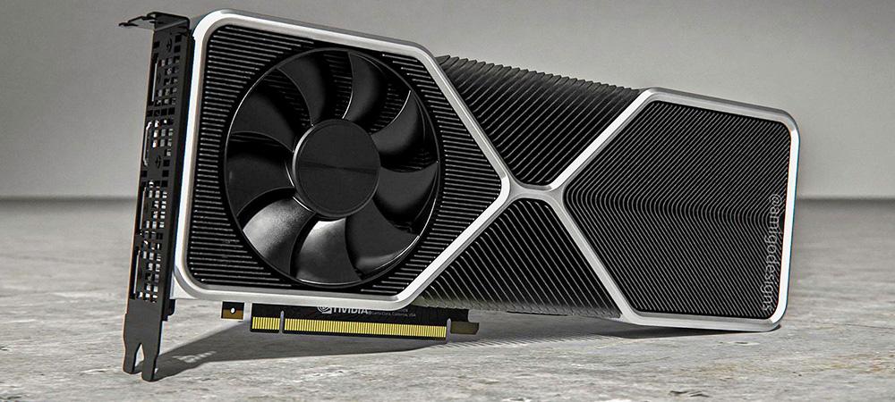 Фанаты создали неофициальные рендеры видеокарты NVIDIA GeForce RTX 3080