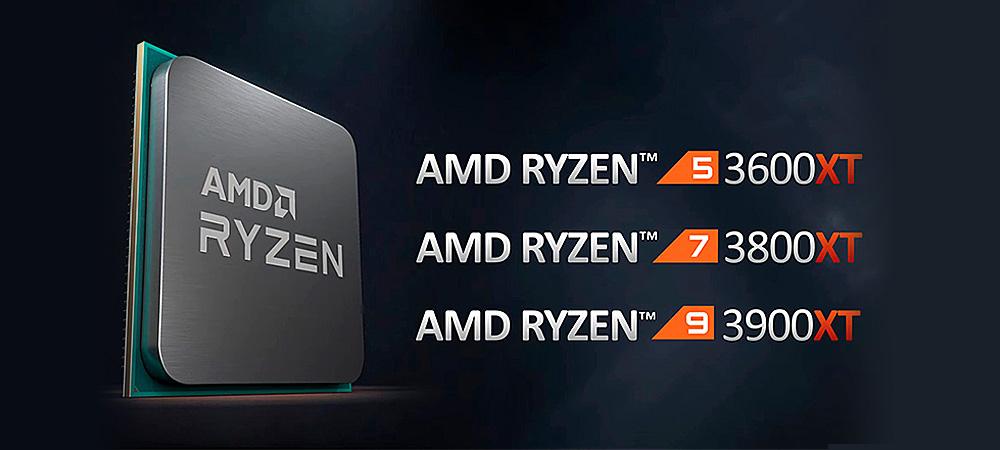 Состоялся релиз процессоров AMD Ryzen 3000XT