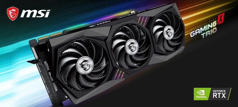 MSI представила свои модели видеокарт GeForce RTX 3000