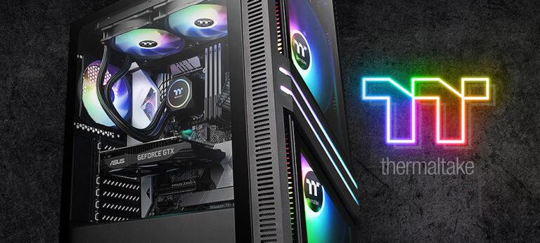 Thermaltake представила корпуса Versa T25 TG RGB и T35 TG RGB