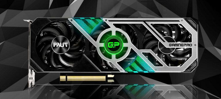 Знакомимся с исполнениями видеокарт Palit GeForce RTX 3000