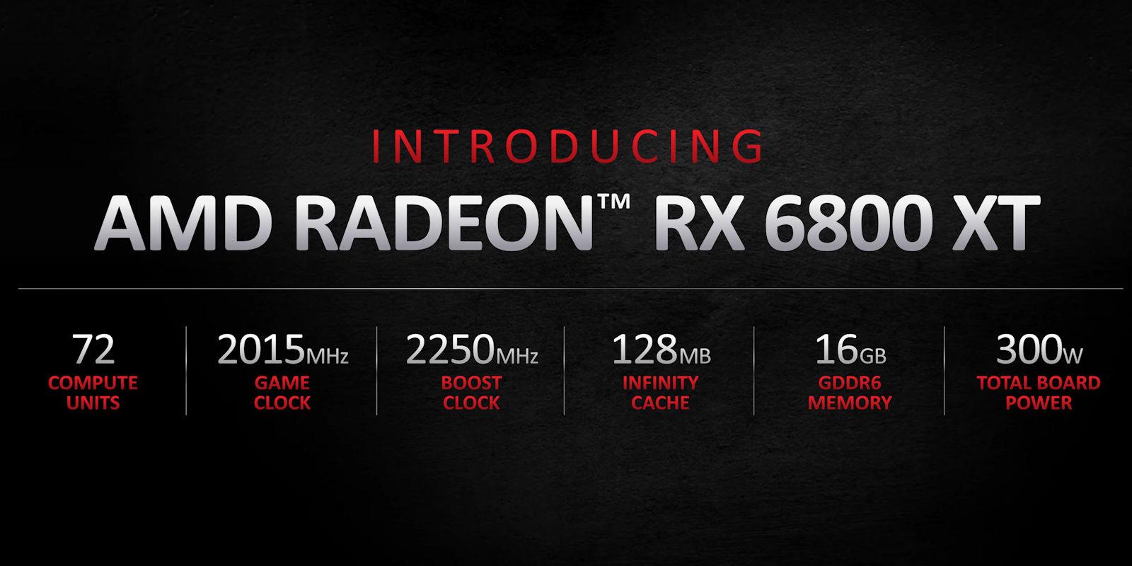 AMD представила видеокарты Radeon RX 6000 серии на архитектуре RDNA 2