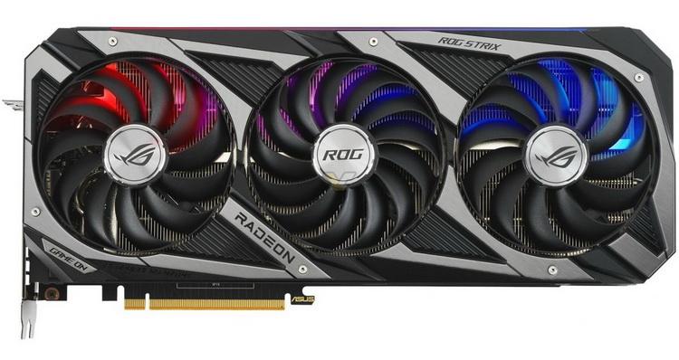 ASUS показала свои исполнения видеокарт Radeon RX 6800 XT и RX 6800