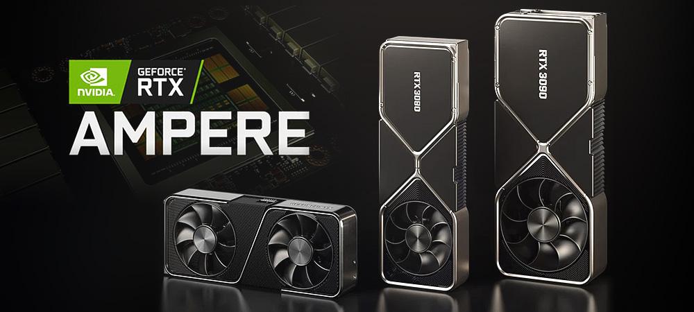 NVIDIA сможет удовлетворить спрос на видеокарты GeForce RTX 3000 в 2021 году