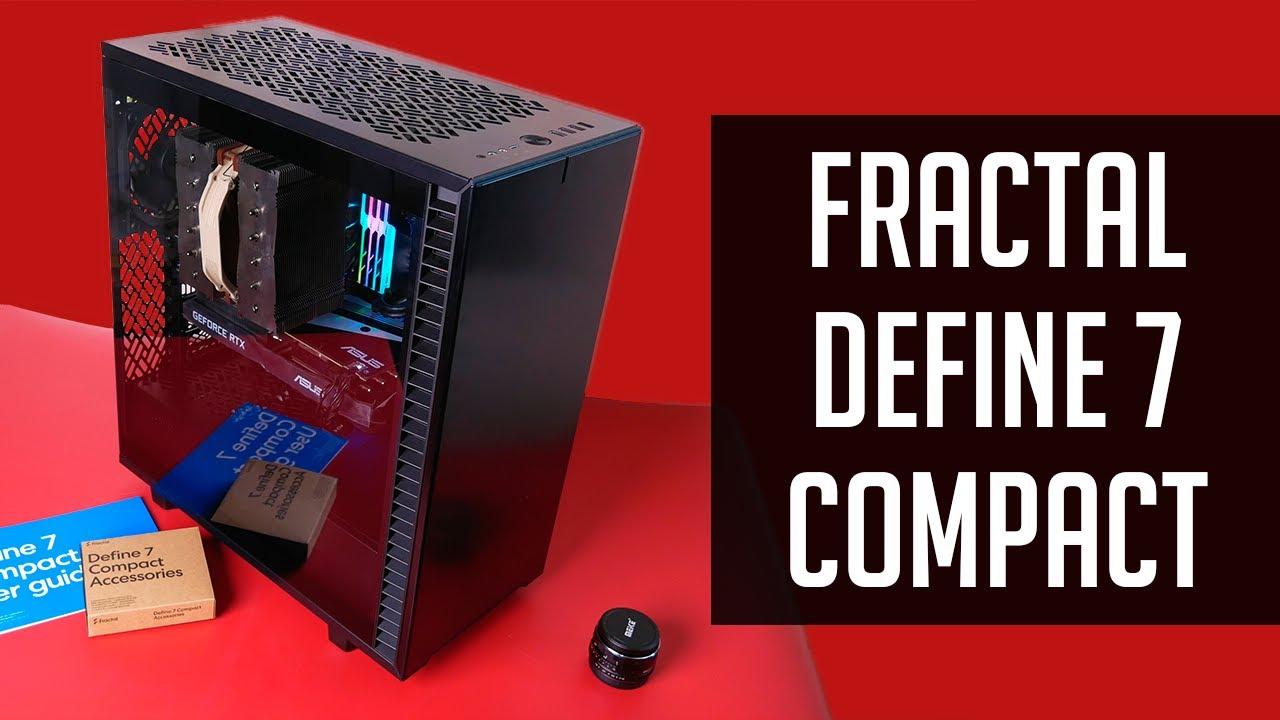 Подробный обзор корпуса Fractal Design Define 7 Compact