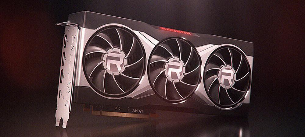 Флагманская видеокарта Radeon RX 6900 XT способна достигать частоты 3000 МГц