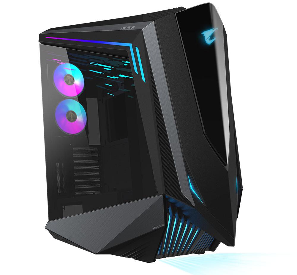 Gigabyte представила компьютерный корпус AORUS C700 Glass