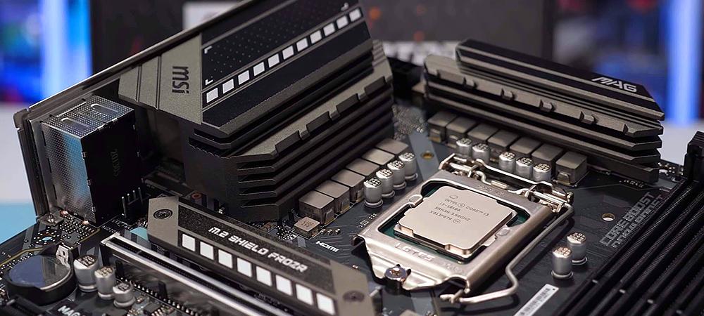 """Intel """"разрешит"""" разгон оперативной памяти на материнских платах B560"""