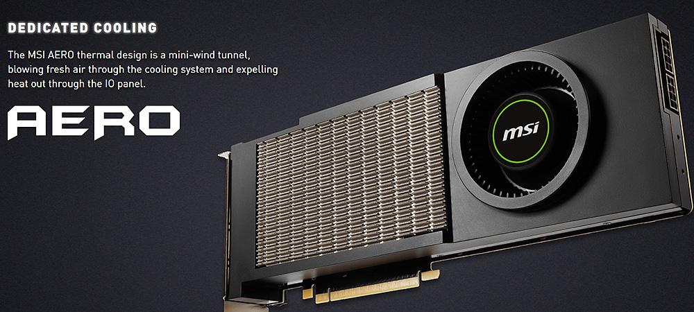 MSI возвращает дизайн исполнения GTX 480 для видеокарты RTX 3090 AERO