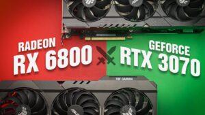 Большой тест Radeon RX 6800 и сравнение с GeForce RTX 3070