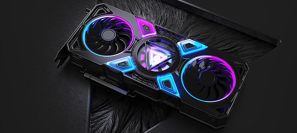 Игровые видеокарты Intel Xe-HPG DG2 получат до 16 ГБ видеопамяти GDDR6