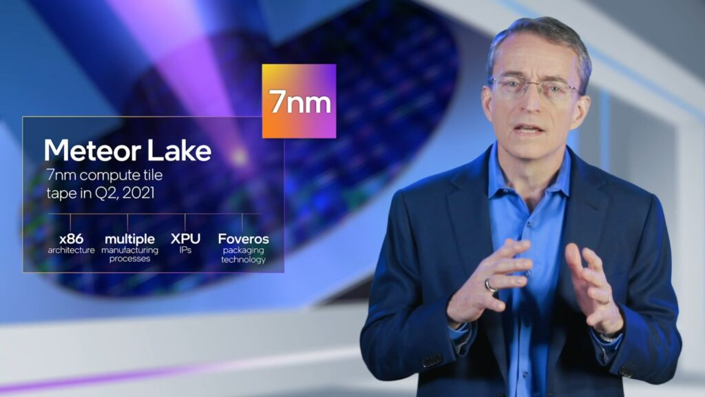 Процессоры Intel Meteor Lake на 7-нм техпроцессе выйдут в 2023 году