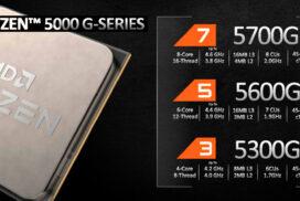 AMD представила новое поколение гибридных процессоров Ryzen 5000G