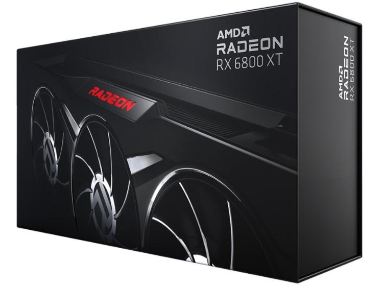 AMD представила видеокарту Radeon RX 6800 XT Midnight Black в чёрном исполнении