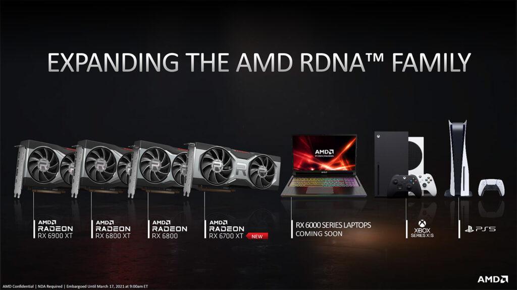 AMD планирует увеличить поставки видеокарт Radeon RX 6000 серии