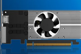 Gunnir выпустила видеокарту Blue Halberd Iris Xe с редким разъёмом VGA