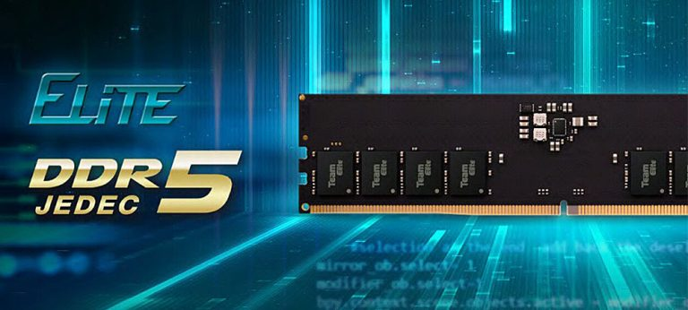 В продажу поступила первая оперативная память TeamGroup Elite DDR5-4800 32GB