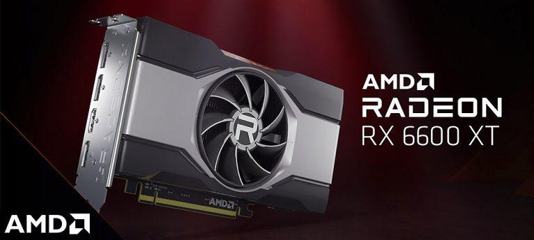 AMD официально представила видеокарту Radeon RX 6600 XT по цене 379 $