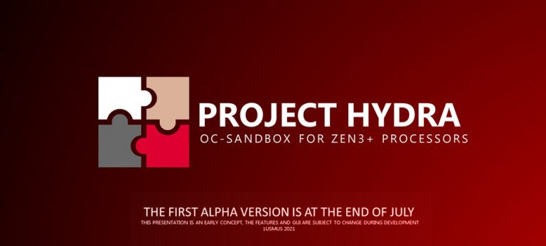 Project Hydra – новое ПО для разгона и настройки процессоров AMD Ryzen Zen 3 и Zen 3+
