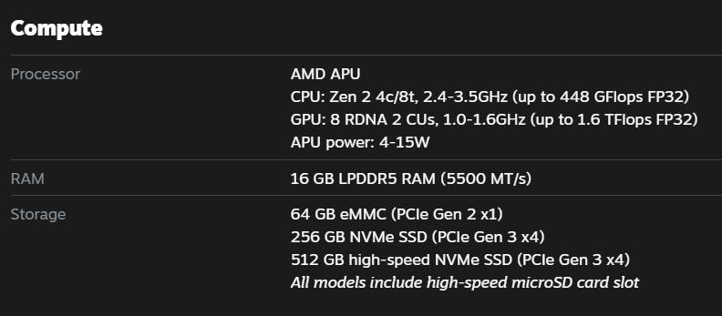 Valve анонсировала портативную консоль Steam Deck с процессором Ryzen Zen 2 и графикой RDNA 2