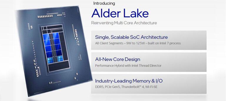 Intel представила в подробностях гибридную процессорную архитектуру Alder Lake 12-го поколения