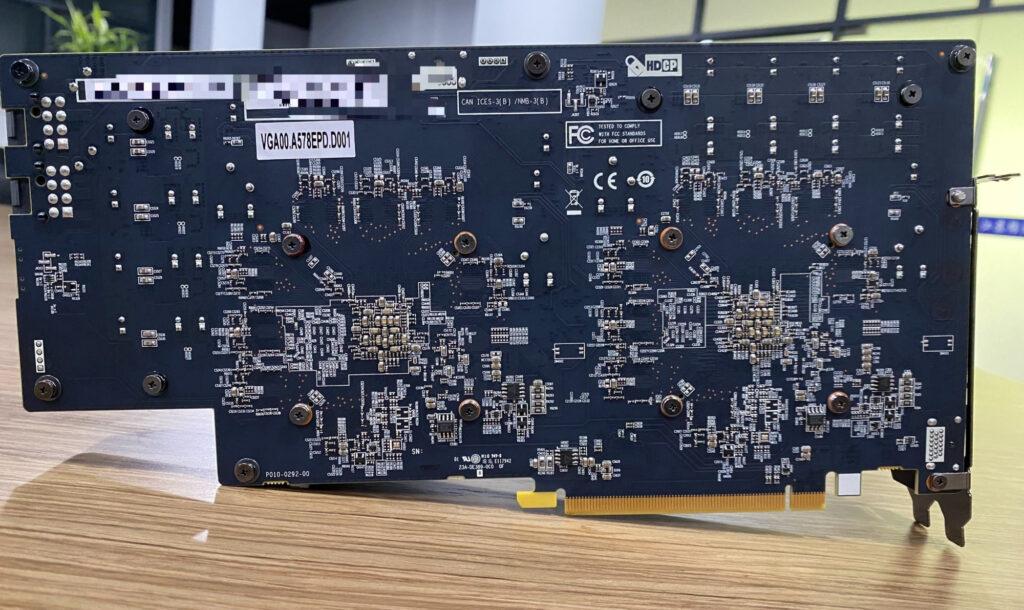 Обнаружена видеокарта для майнинга Sapphire Radeon RX 570 с двумя чипами Polaris 20 и 16 ГБ памяти