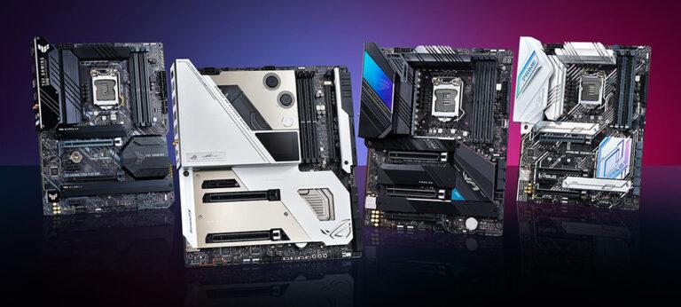 ASUS выпустит материнские платы для Alder Lake с поддержкой как DDR5, так и DDR4