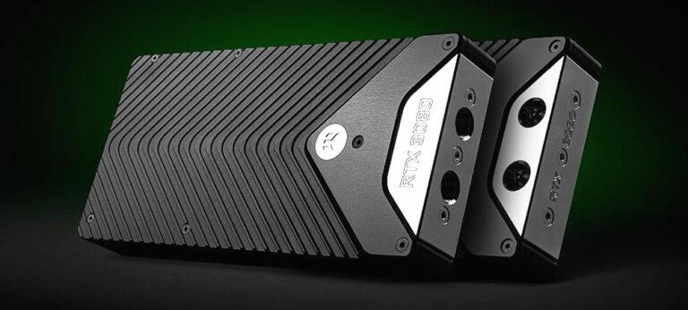 EKWB представила водоблоки EK-Quantum Vector для видеокарт GeForce RTX 3090 и RTX 3080 Founders Edition