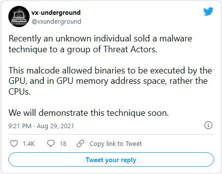 Хакеры нашли новый способ скрытно загружать вирусы в память видеокарт