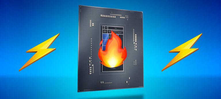 Процессор Intel Core i9-12900K потребляет 250 Вт энергии и нагревается до 93°C